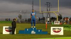 Dom Fischer Metro High Jump Champ